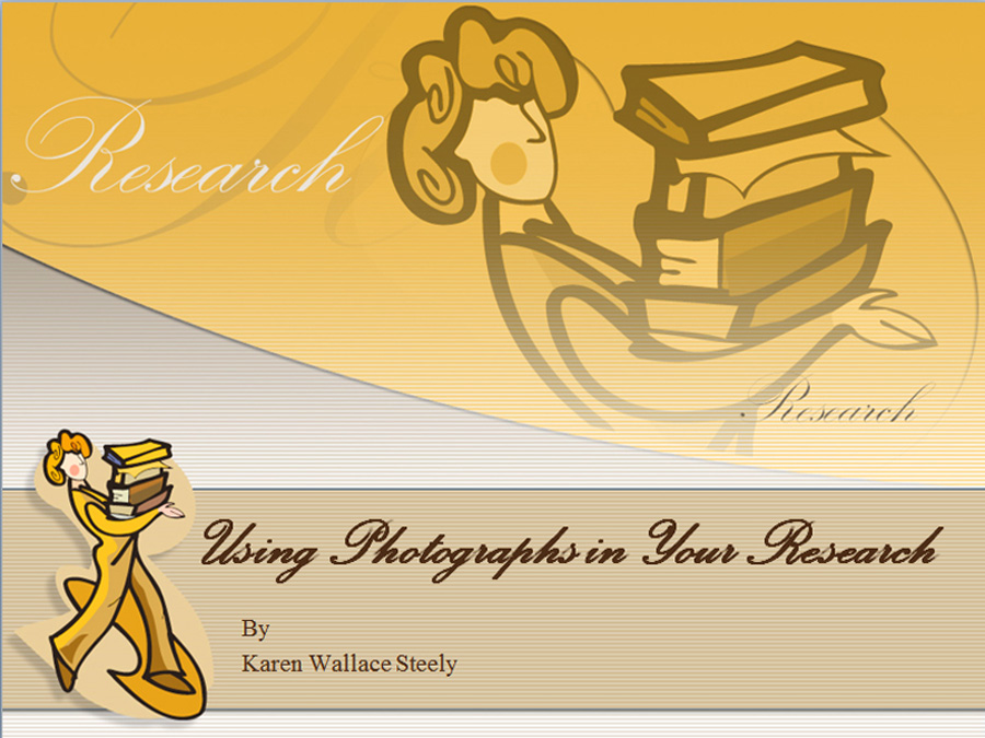 Using Photographs in Your Research