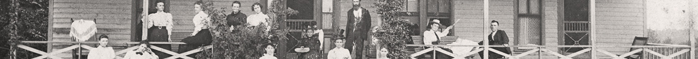 The Antlers Hotel in Eureka Springs, Arkansas circa 1897