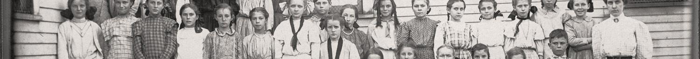 Empire City School in Empire City (now part of Galena), Cherokee County, Kansas in 1909.