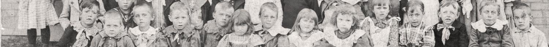 Wilbur Bryant and his classmates in Kansas City, Jackson County, Missouri circa 1896.