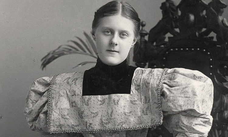 Tanan (last name unknown) in May 1895, while she was a student at the Mount Vernon Seminary in Washington, D.C.