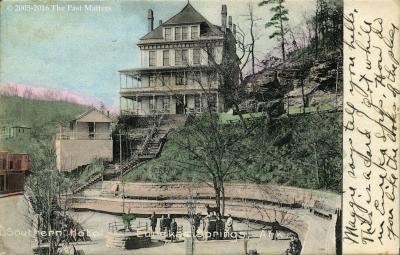 Southern Hotel in Eureka Springs, Arkansas in 1908