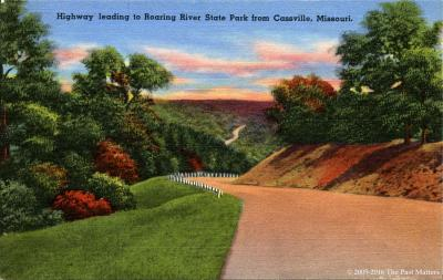 Postcards of Roaring River State Park