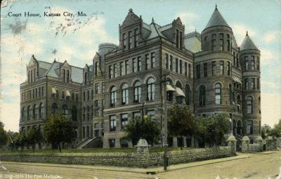 Kansas City, Missouri Courthouse about 1908