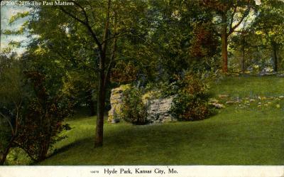 Hyde Park in Kansas City, Missouri in 1909