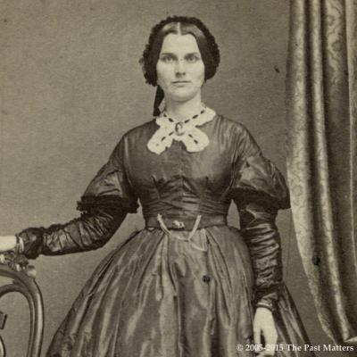 Appalonia M. (Torrey) Thompson about 1862