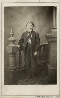Chauncey M. Thompson about 1862