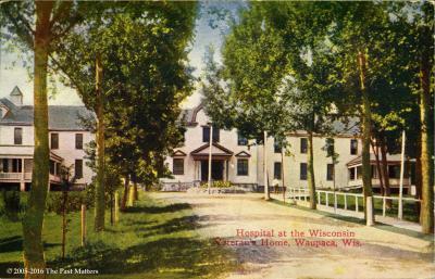 Postcards of Wisconsin Veterans Hospital
