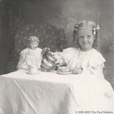 Dana Margaret Williams smiling, 2 Aug 1901